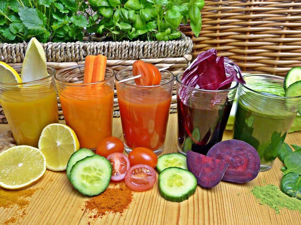 Detox Detoxify Diet Vitamins Healthy Fresh