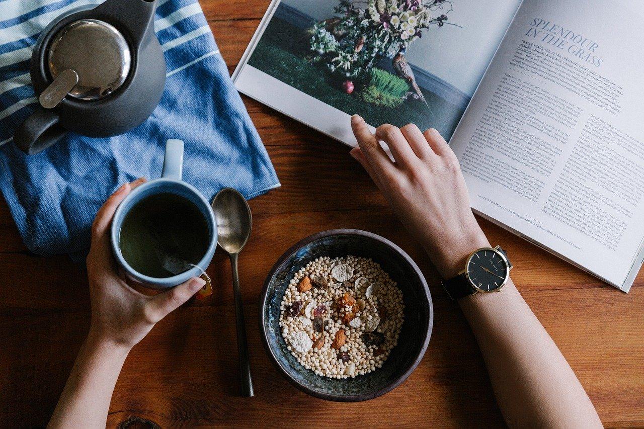 Breakfast Healthy Food Diet Fruit Bowl Organic